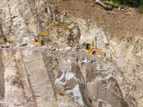 Oberrheingraben-parallele Klüftung des Seebach-Granits