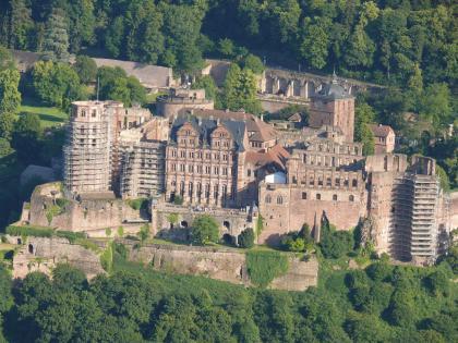 Schloss Heidelberg.