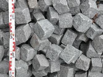 Pflastersteine aus Seebach-Granit